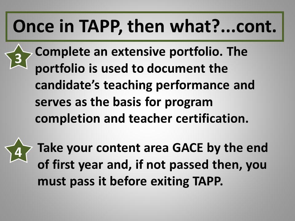 Complete an extensive portfolio.