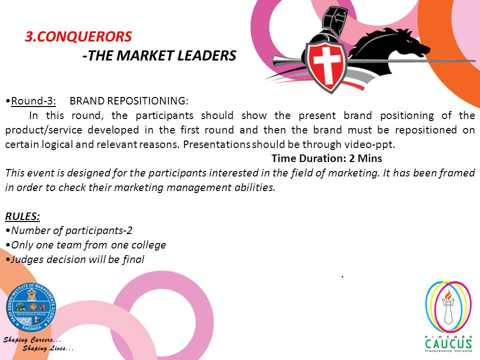 This event is for those young aspirants who have unique business plans and wish to become successful entrepreneurs.