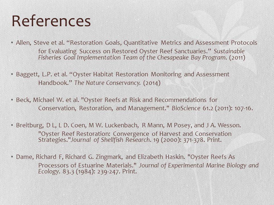 References Allen, Steve et al.