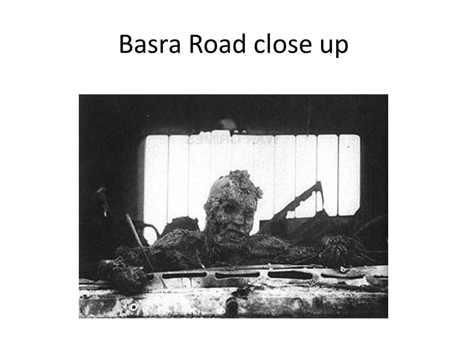 Basra Road close up
