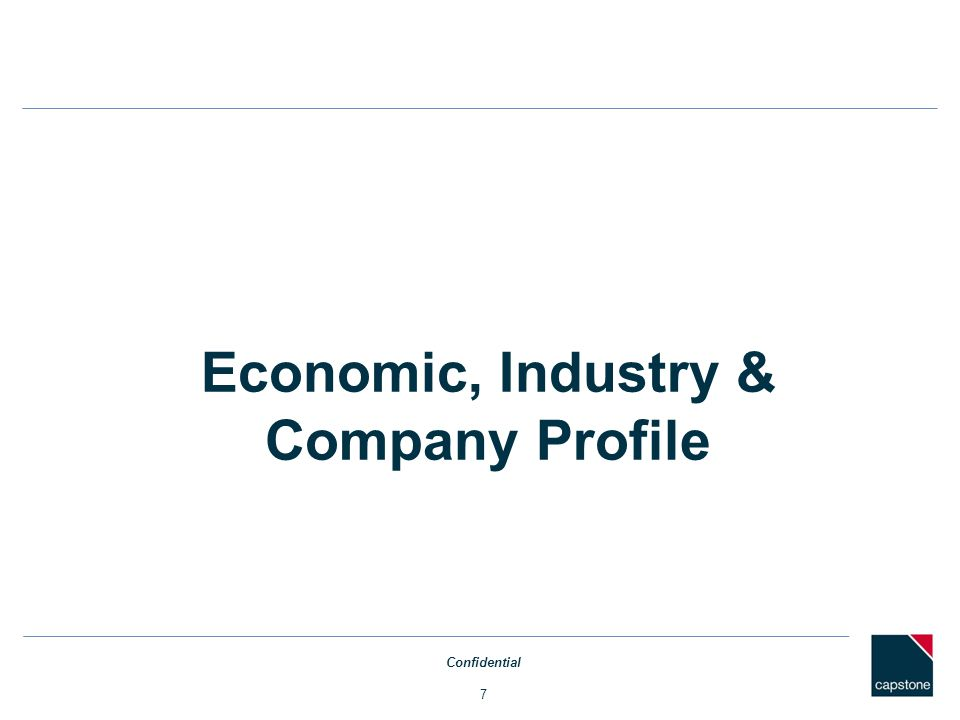 WACC – Relevered Beta Income Approach Confidential 28 Source: Capital IQ