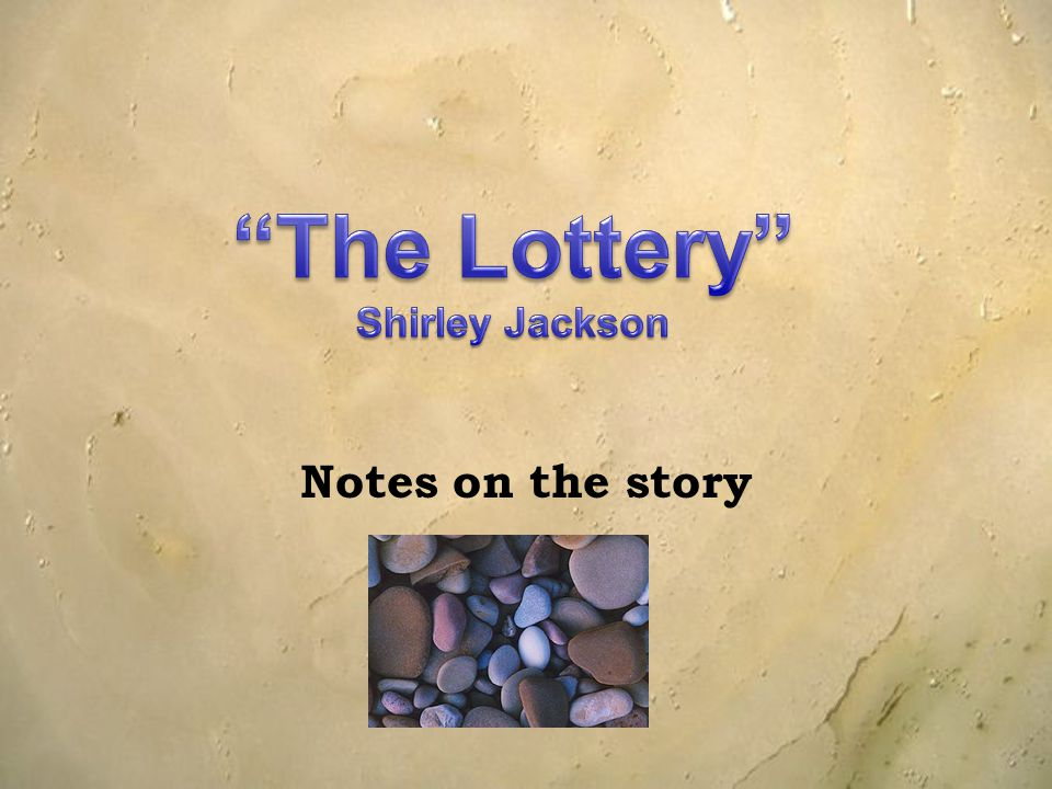 Notes on the story