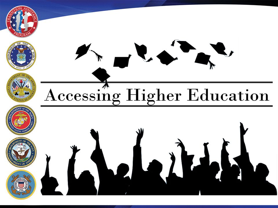 Section 2: Institution Selection Competency – Evaluation of higher education institutions and degree programs – Make informed decisions regarding degree programs Learning Objectives – Compare and contrast types of institutions and degree programs – Identify degree programs to transfer recommended military credit