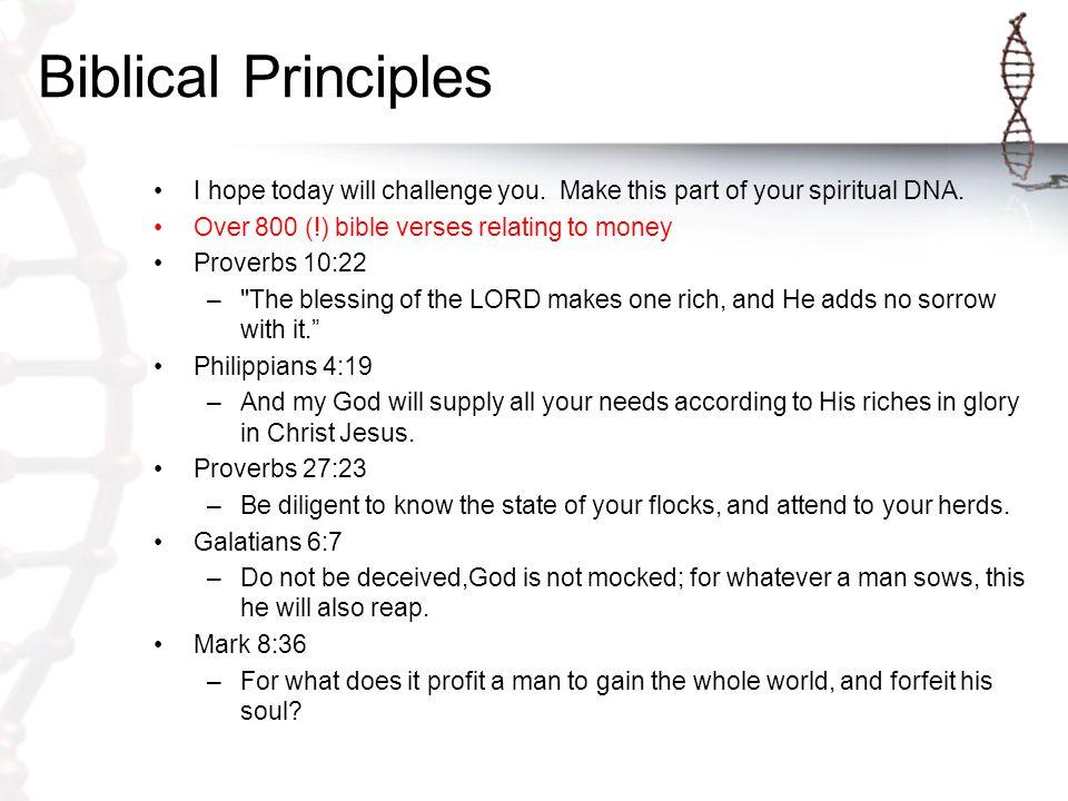 Biblical Basics Is money evil.