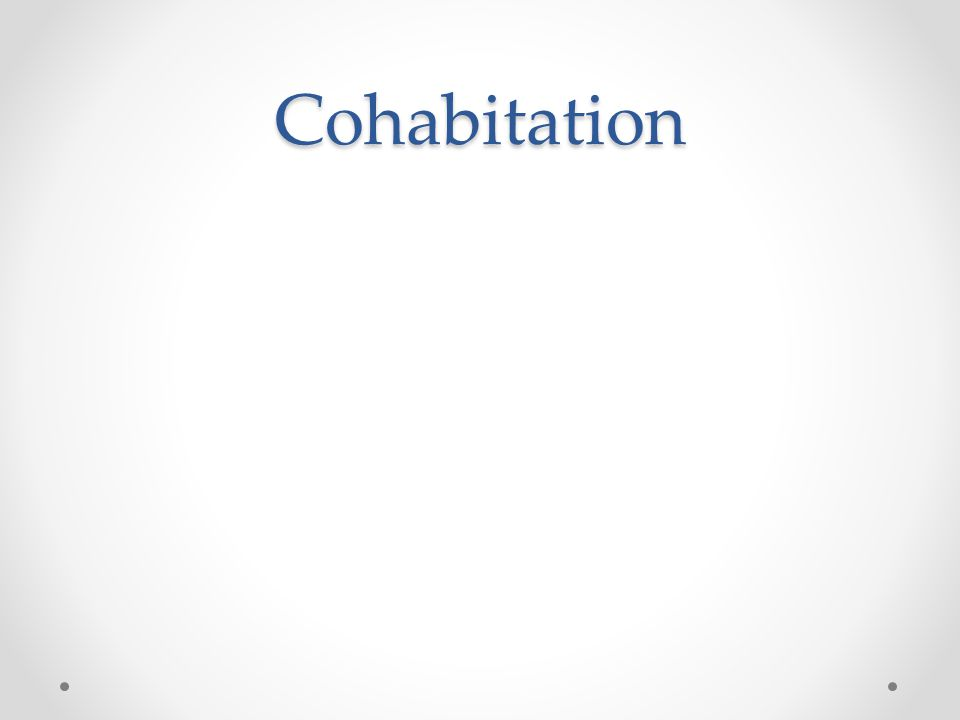 Cohabitation
