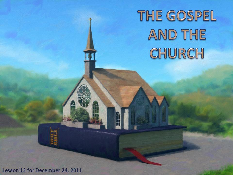 Lesson 13 for December 24, 2011