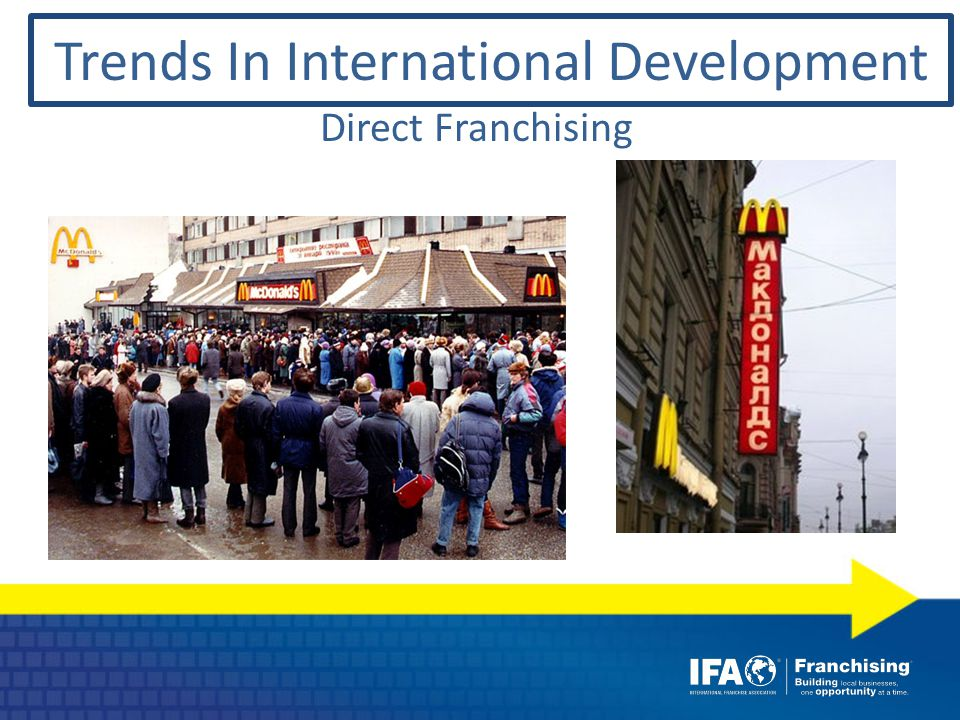 Direct Franchising Trends In International Development