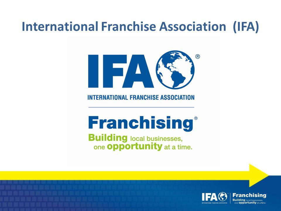 International Franchise Association (IFA)