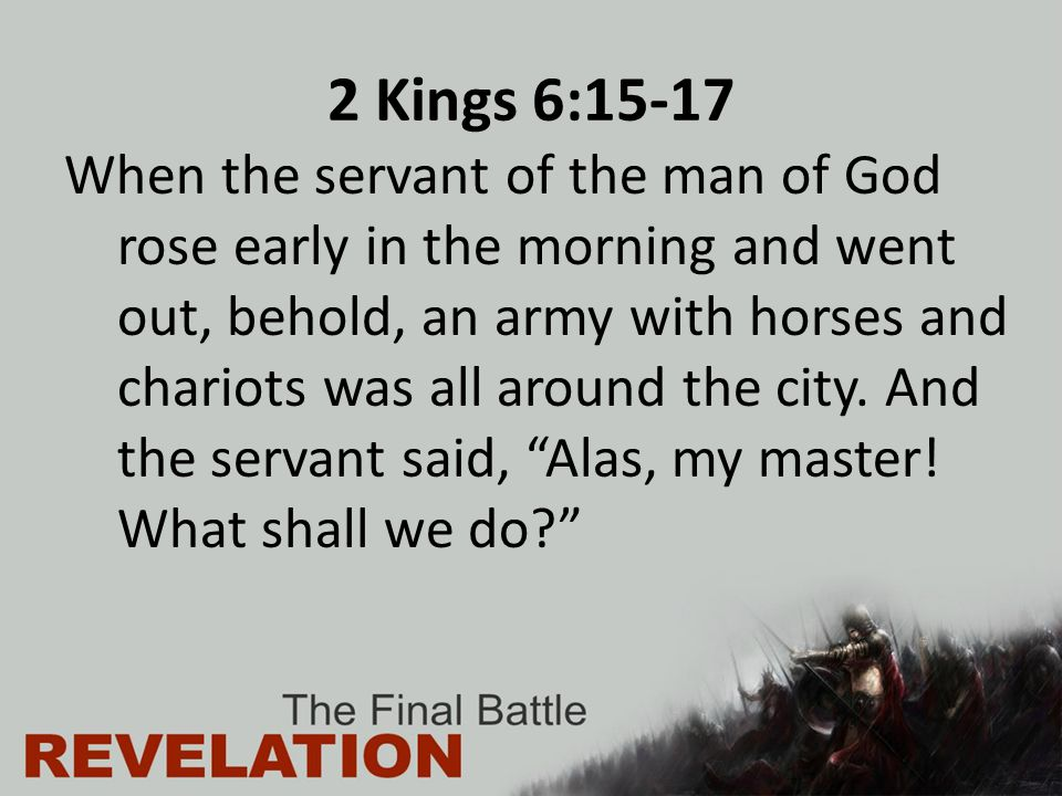 Revelation 14:14-20 Put in your sickle, and reap, for the hour to reap has come, for the harvest of the earth is fully ripe. 16 So he who sat on the cloud swung his sickle across the earth, and the earth was reaped.