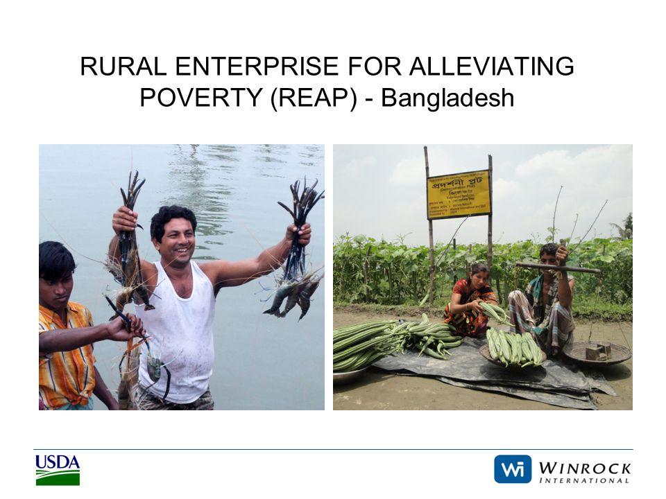 RURAL ENTERPRISE FOR ALLEVIATING POVERTY (REAP) - Bangladesh