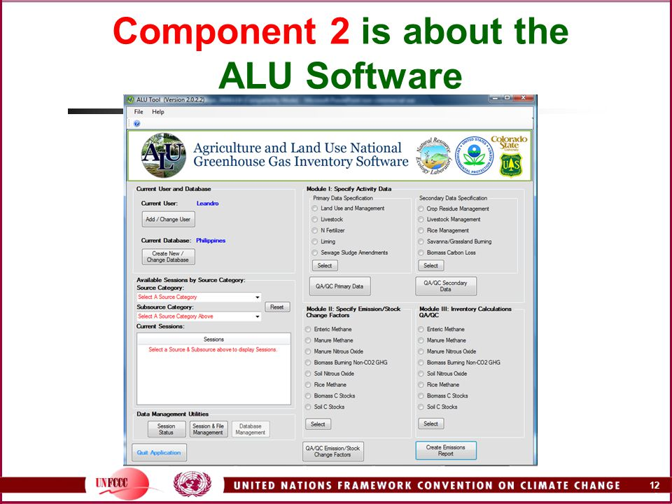12 A Component 2 is about the ALU Software