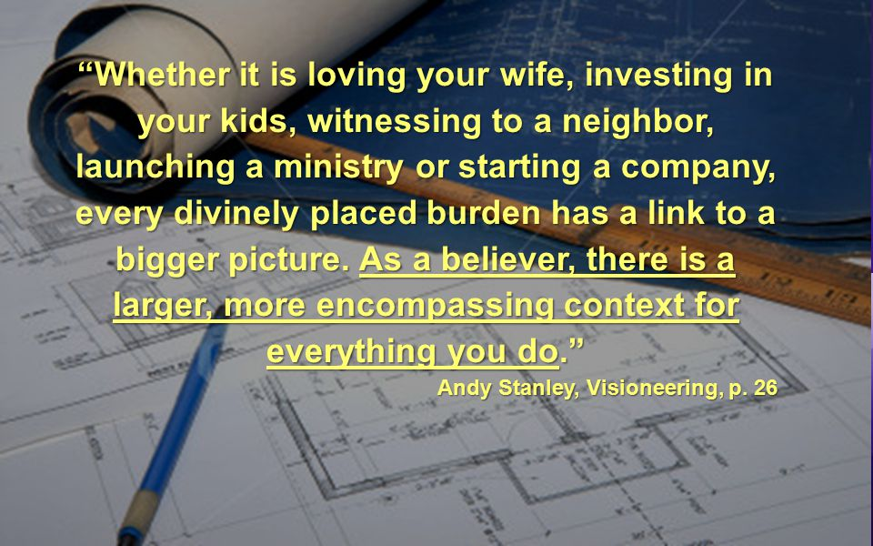 Am I looking for my completeness in Christ or in something earthly like my job, relationships or money?