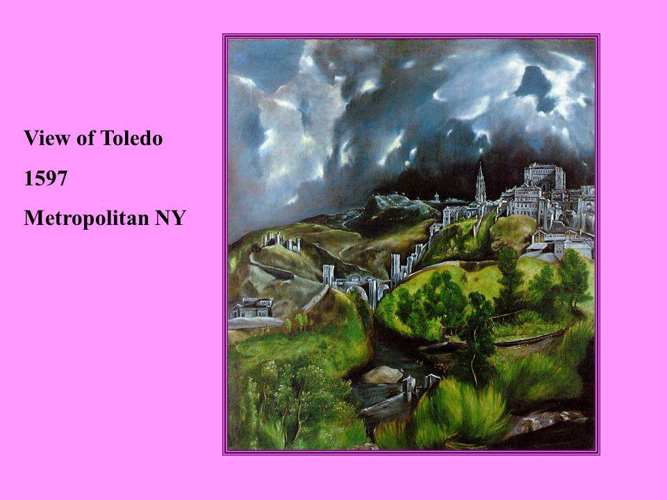 View of Toledo 1597 Metropolitan NY