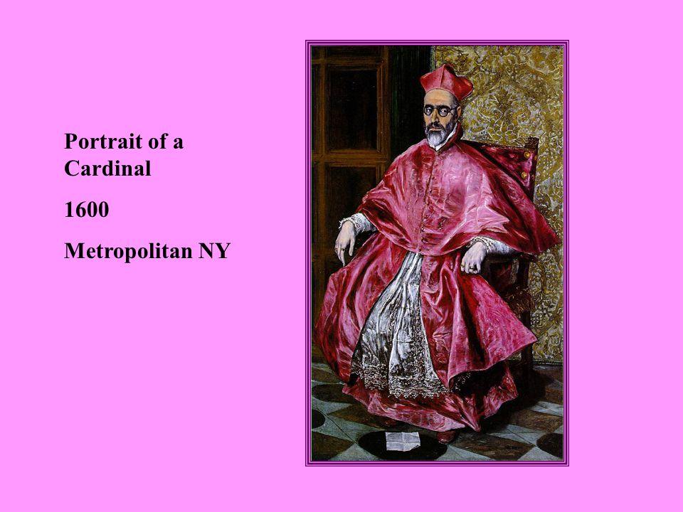 Portrait of a Cardinal 1600 Metropolitan NY