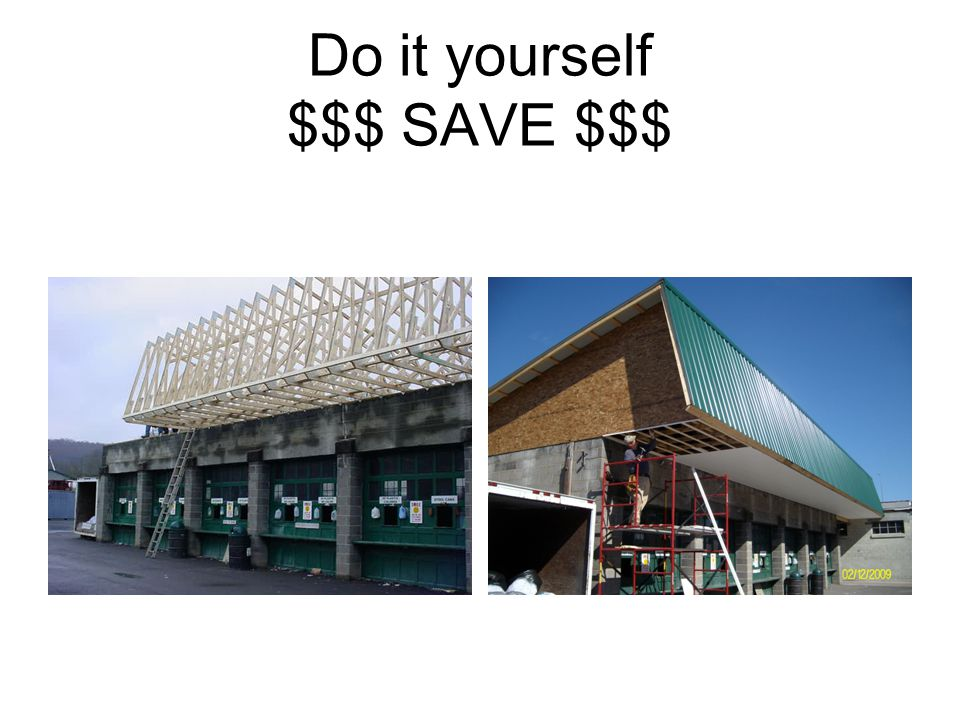 Do it yourself $$$ SAVE $$$