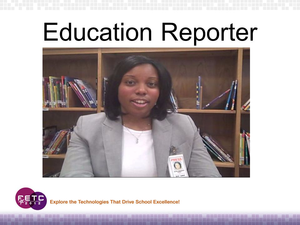 Education Reporter