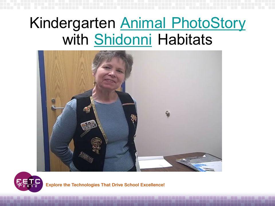 Kindergarten Animal PhotoStory with Shidonni HabitatsAnimal PhotoStoryShidonni