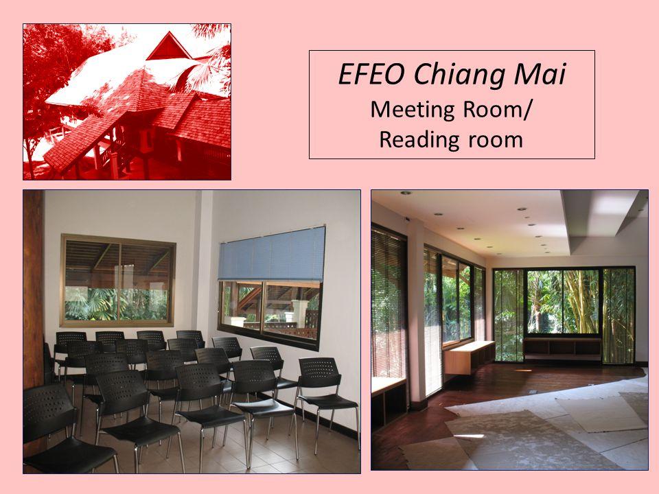 EFEO Chiang Mai Meeting Room/ Reading room