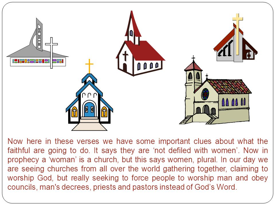 Now here in these verses we have some important clues about what the faithful are going to do.