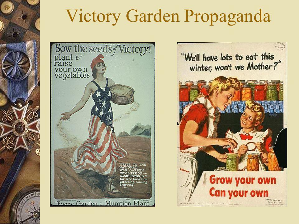 Victory Garden Propaganda