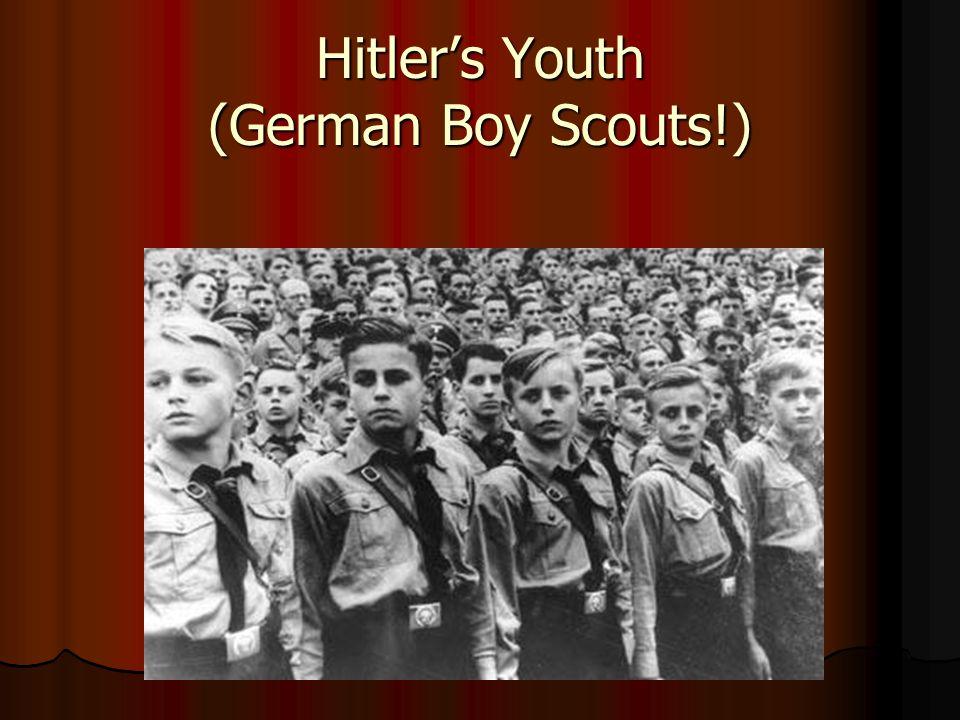 Hitler's Youth (German Boy Scouts!)