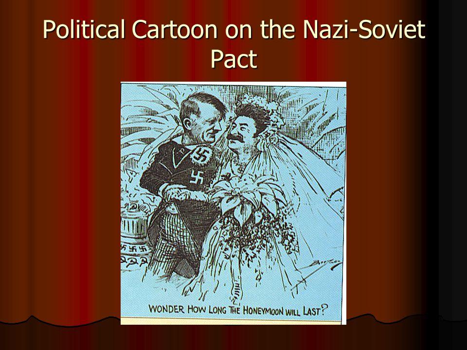 Political Cartoon on the Nazi-Soviet Pact