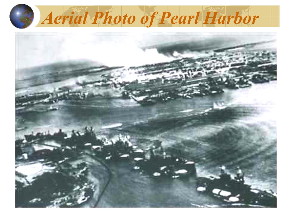 Aerial Photo of Pearl Harbor