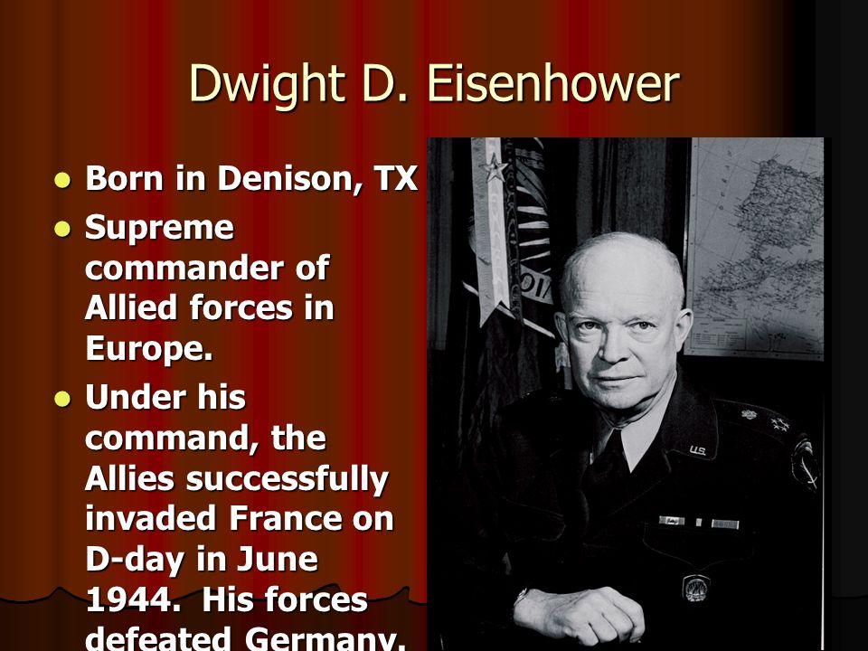 Dwight D.