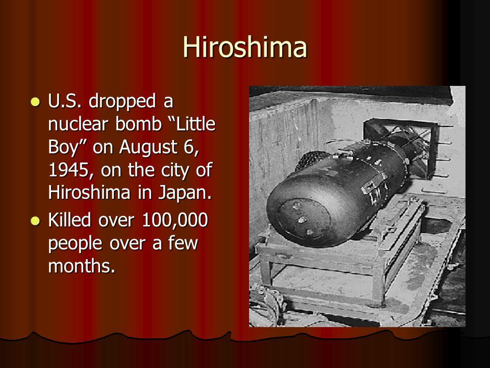 Hiroshima U.S.