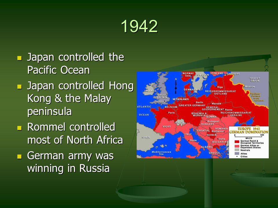 December 7, 1941 Japan attacks the U.S.at Pearl Harbor.