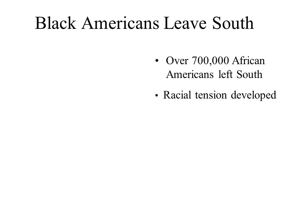 Home Front Economic Boom & Demographic Patterns Black Population Seattle: 4,000-40,000 Detroit: increased by nearly 50,000