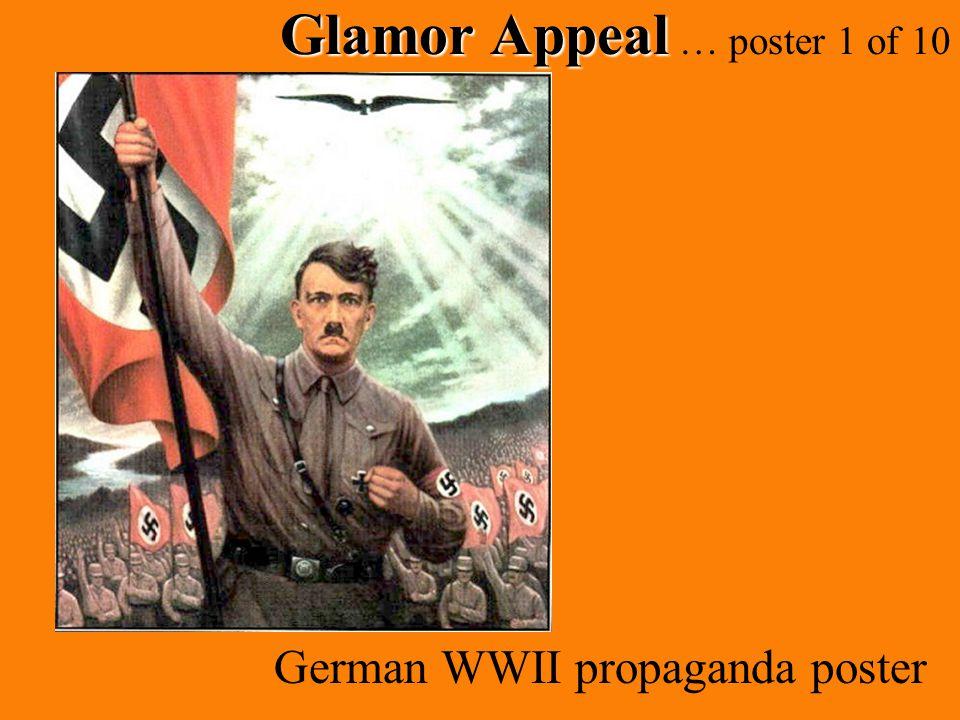 Glamor Appeal Glamor Appeal … poster 1 of 10 German WWII propaganda poster