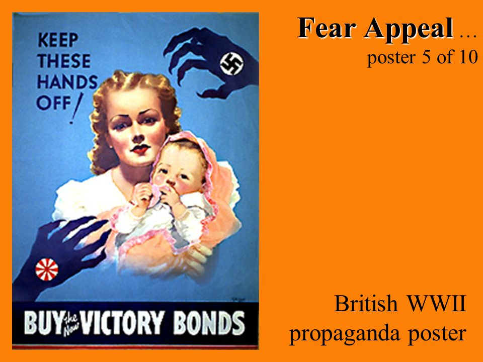 Fear Appeal Fear Appeal … poster 5 of 10 British WWII propaganda poster