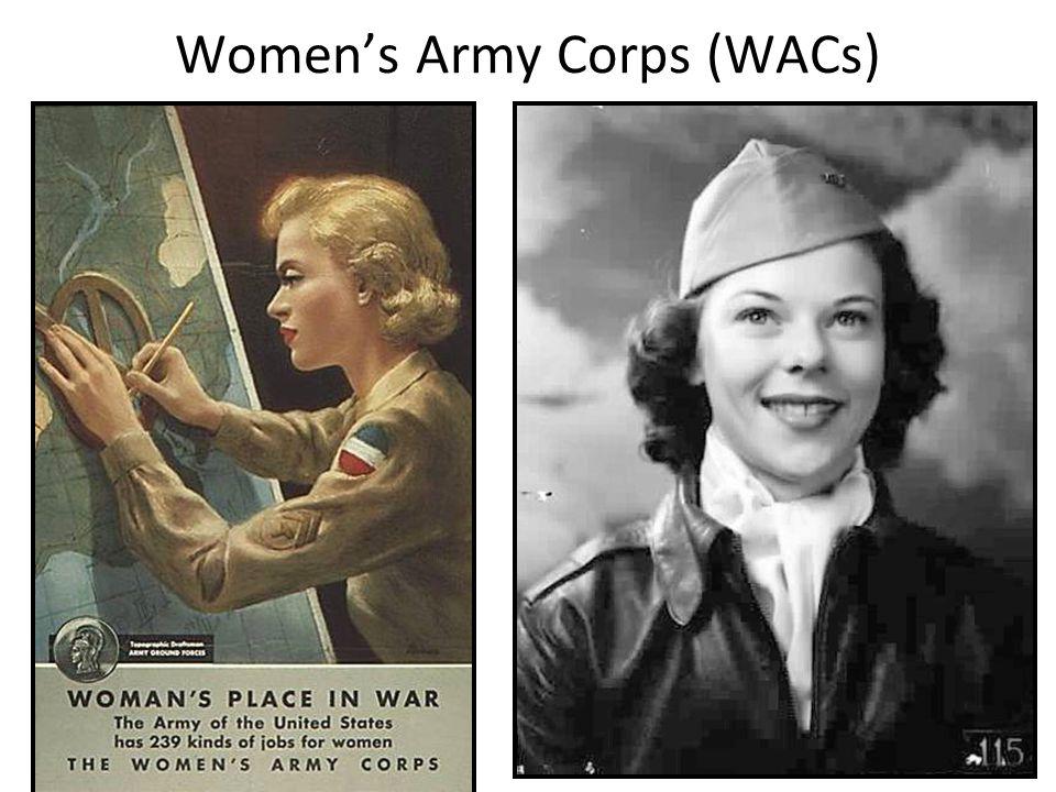 Women's Army Corps (WACs)