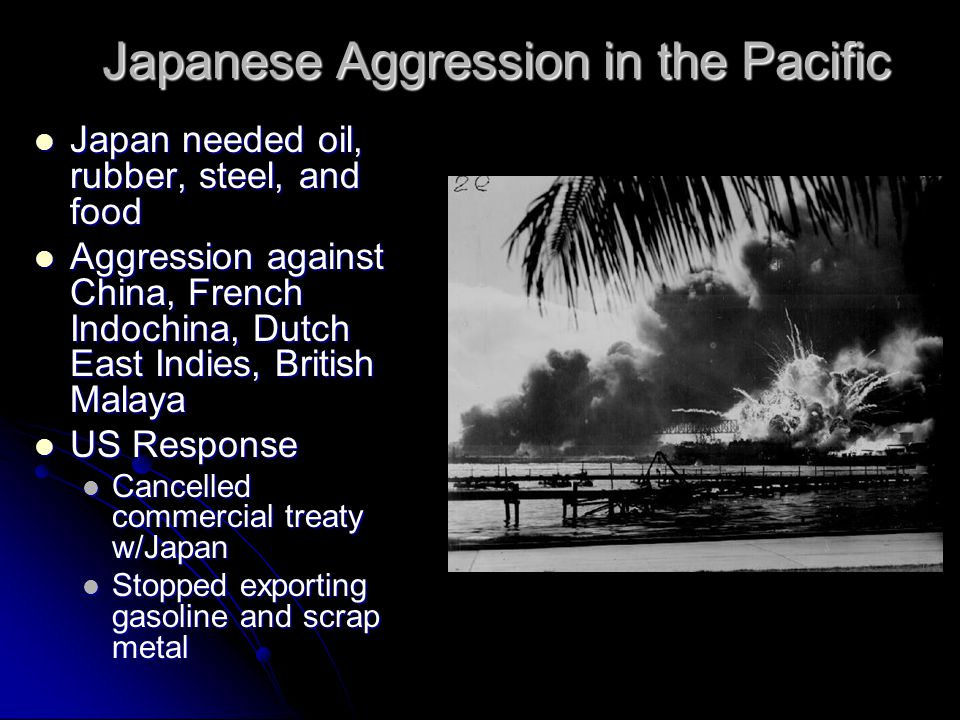 Strained US-Japanese Relations Stimson Doctrine: U.