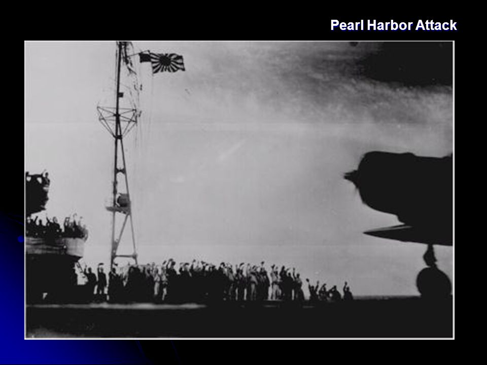 Pearl Harbor December 7, 1941: 7:55 a.m. Japanese attacked U.S.