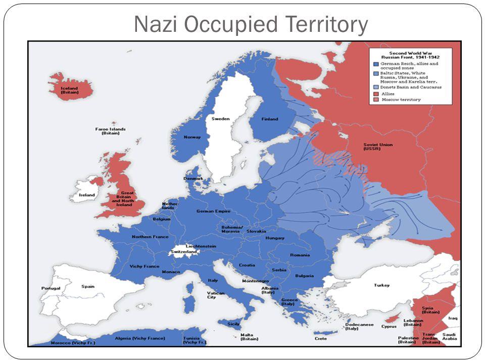 Nazi Occupied Territory