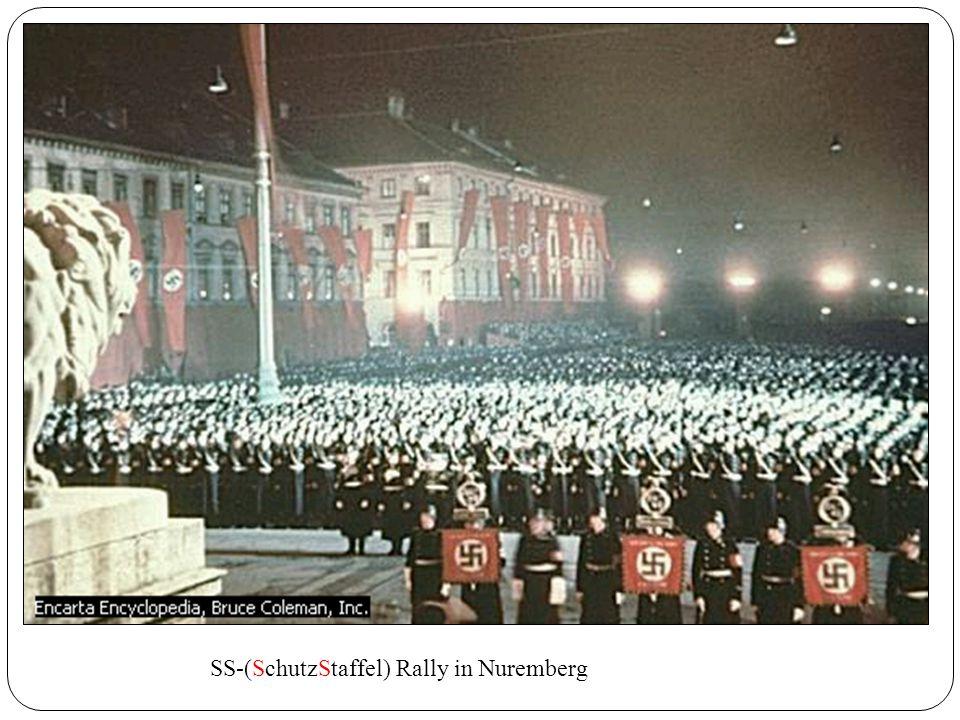 SS-(SchutzStaffel) Rally in Nuremberg