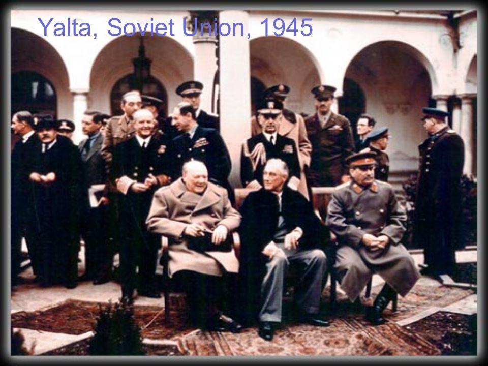 Yalta, Soviet Union, 1945