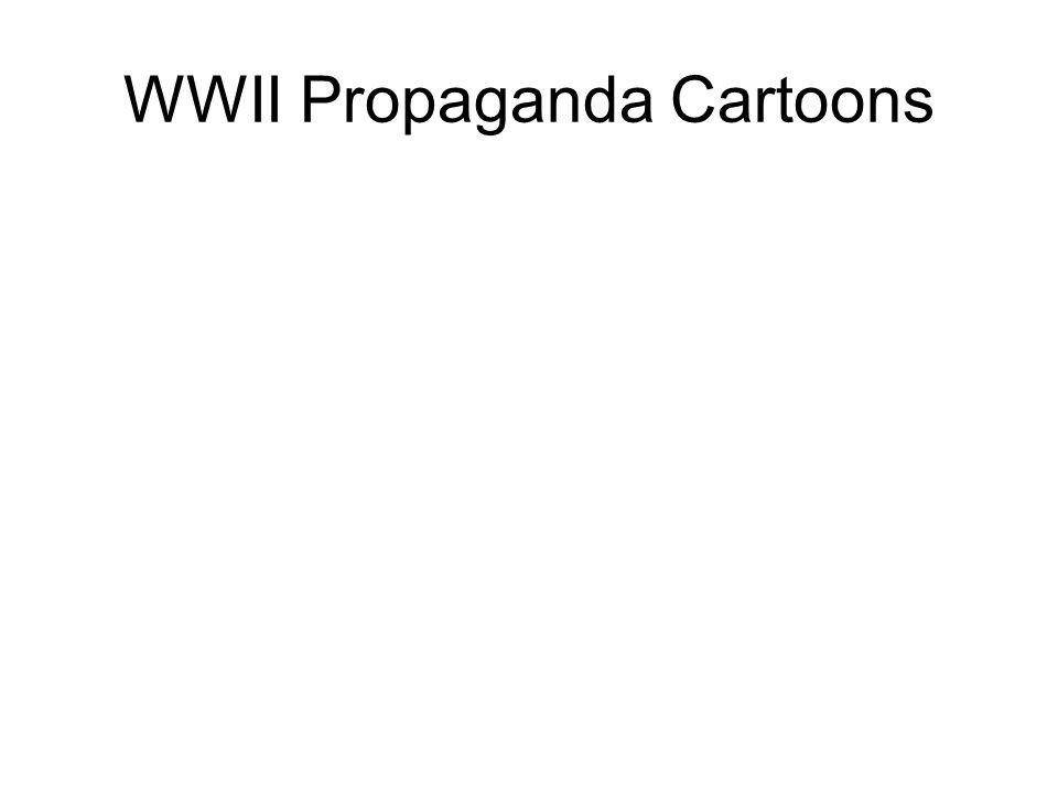 WWII Propaganda Cartoons