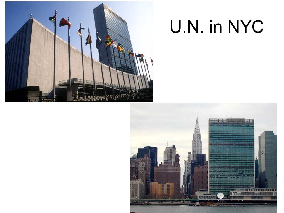 U.N. in NYC