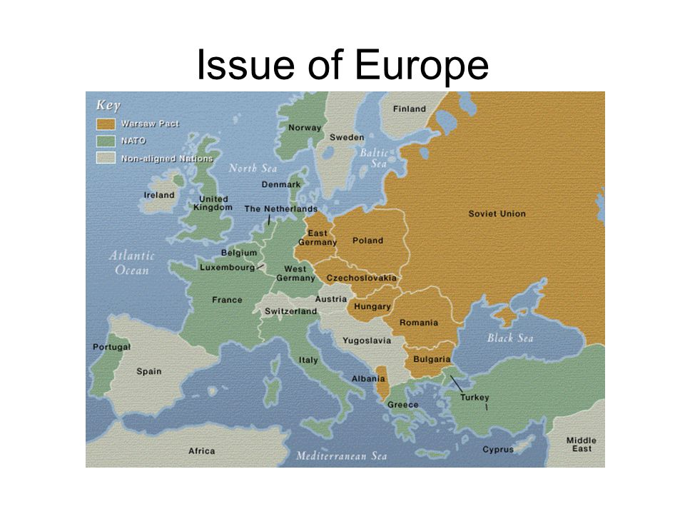 Issue of Europe