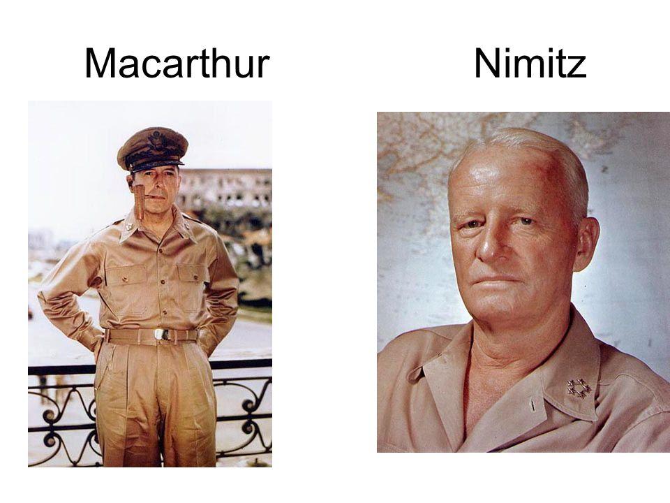 Macarthur Nimitz
