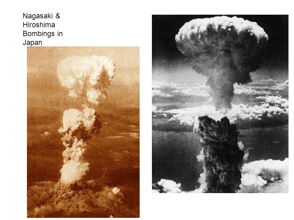 Nagasaki & Hiroshima Bombings in Japan