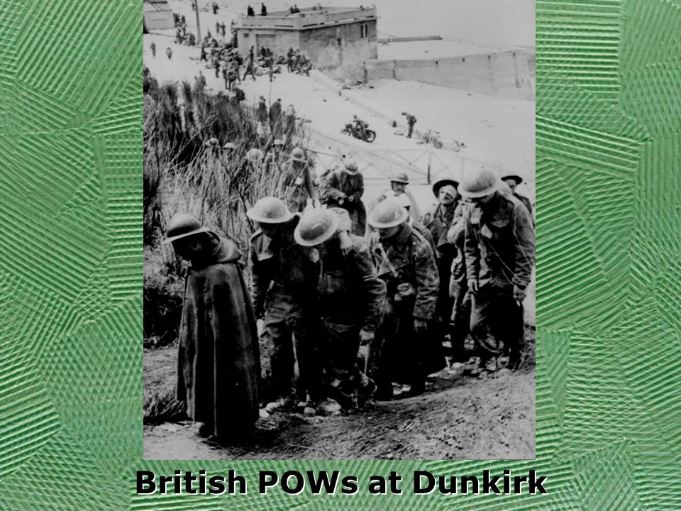 British POWs at Dunkirk