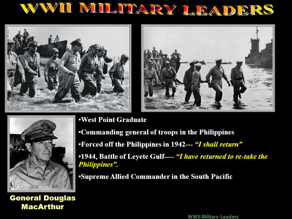 """General George PattonGeneral George Patton Graduate of West Point Tank commander and commander of the 7 th Army Germans feared Patton """"ole blood and g"""