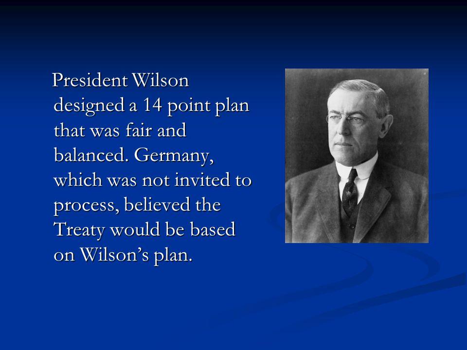 Wilson's plan was vetoed.