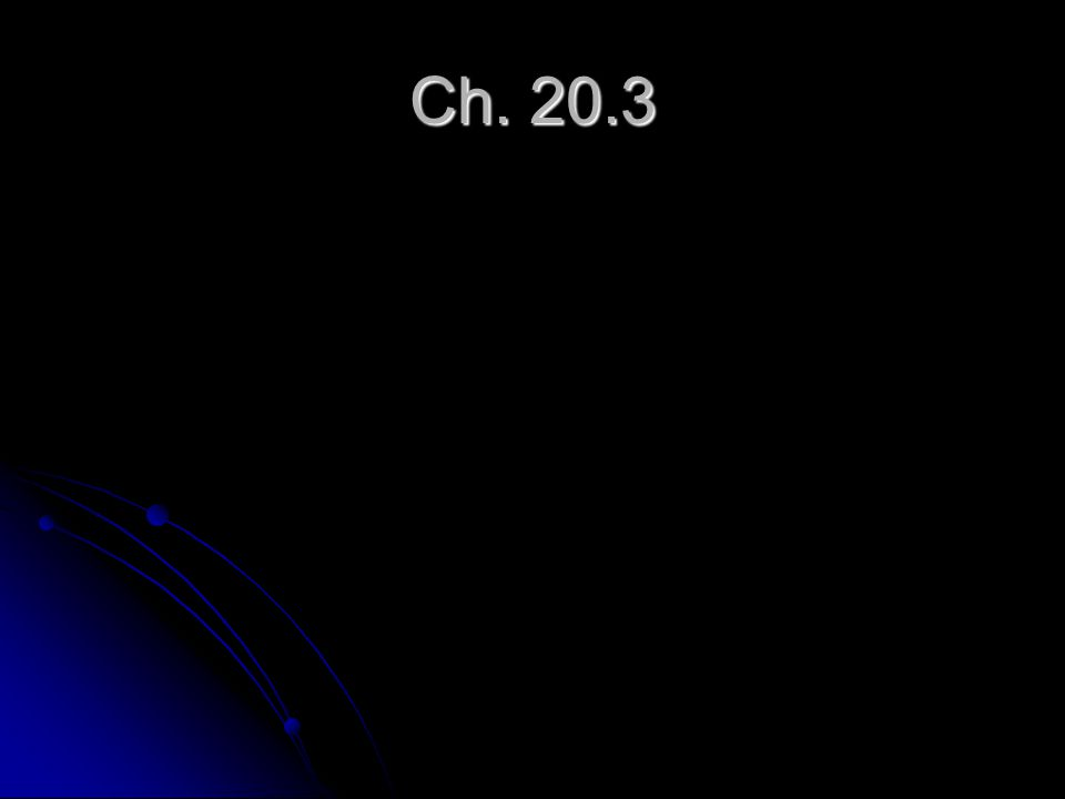 Ch. 20.3