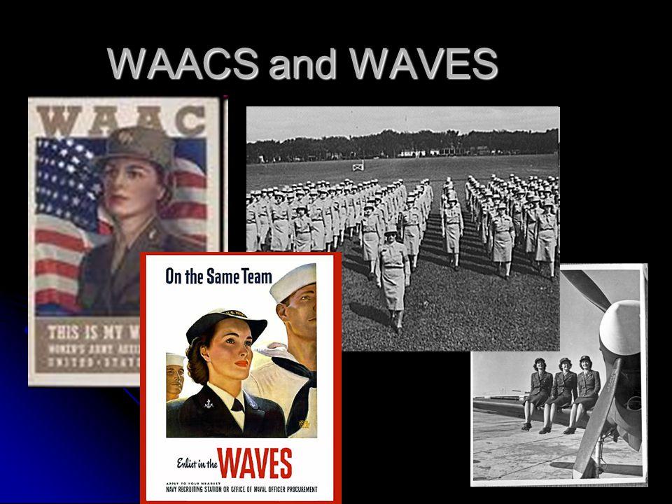 WAACS and WAVES