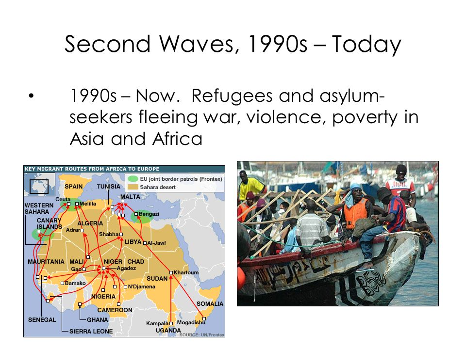 Second Waves, 1990s – Today 1990s – Now.
